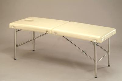 F-39A-120 皮箱型不鏽鋼指壓床-附把手可提